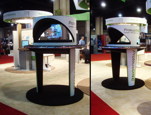 Holographic Projector for Trade Shows