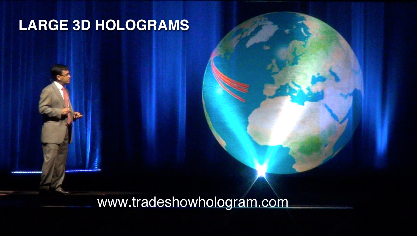 Large Scale 3D Hologram
