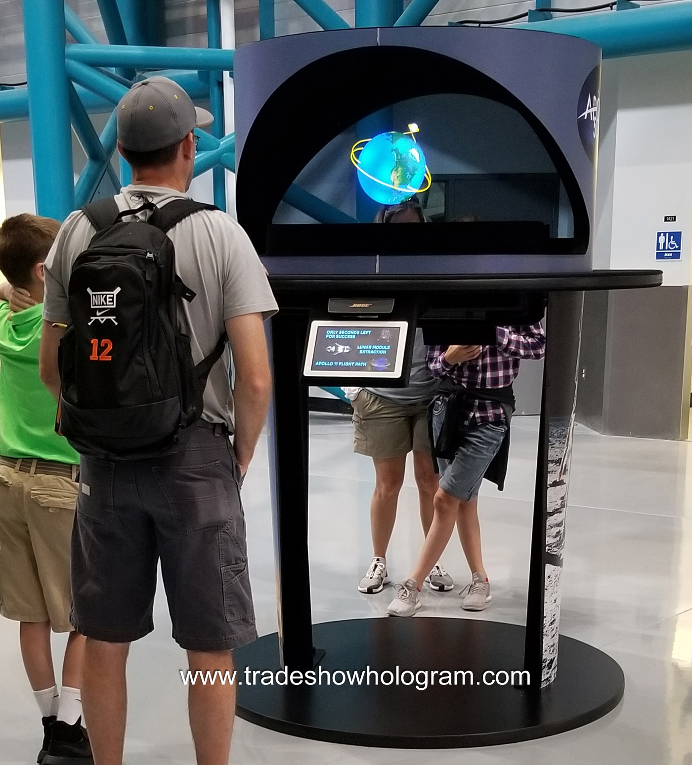Holograms at the Kennedy Space Center